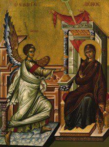 annunciation of virgin maary