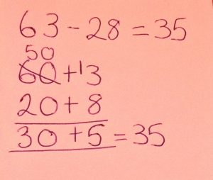 Subtraction Partitioning